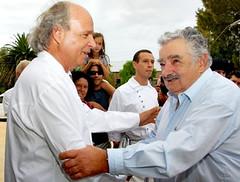 El almuerzo del Presidente Mujica y Francis Mallmann…. regado de vinos uruguayos