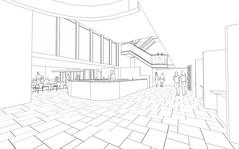 Interior, Bar and Stalls