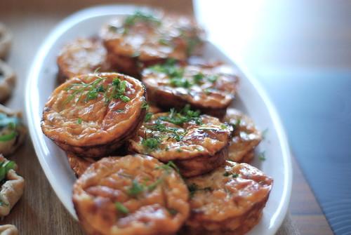 tuna bouchons/tuunikala-juustu omletikesed