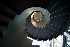 Stairs in the Office Atrium (Paul Zanre Photography)