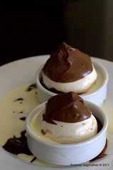 Chocolate Coated Meringues, with Ganache and Cream-ii