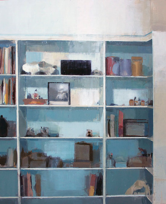 bookshelf by chelsea james