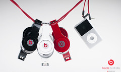 Beats by Dr. Dre (Abdulrahman BinSlmah) Tags: red music white black by 50mm pod nikon ipod dr solo hd af nikkor softbox dre beats strobe d300 f14d abdulrahman