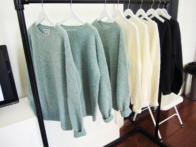 jw anderson boiled wool knitwear