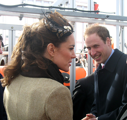 Prince William and Kate Middleton, Anglesey 2011