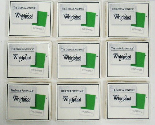 [Image from Flickr]:Whirlpool logo cookies
