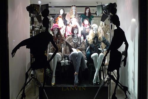 Vitrines Lanvin - Paris, février 2011