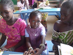 Djenebou, la plus jeune enfant parrainé