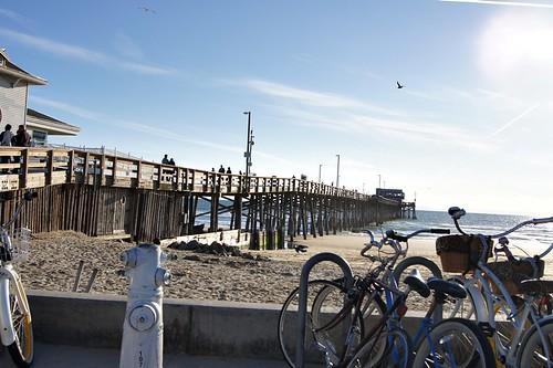 Beach: The pier
