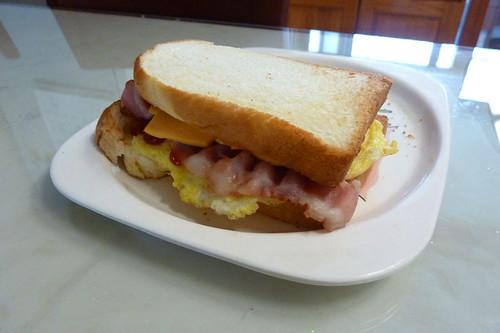 Day 3 - Breakfast sandwish