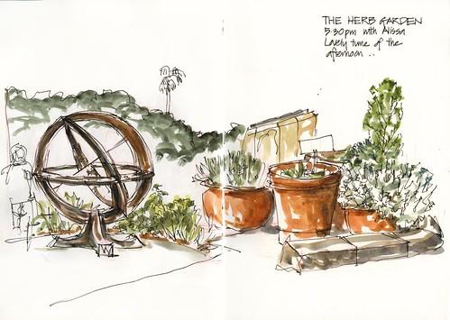 110226_06 Herb Garden