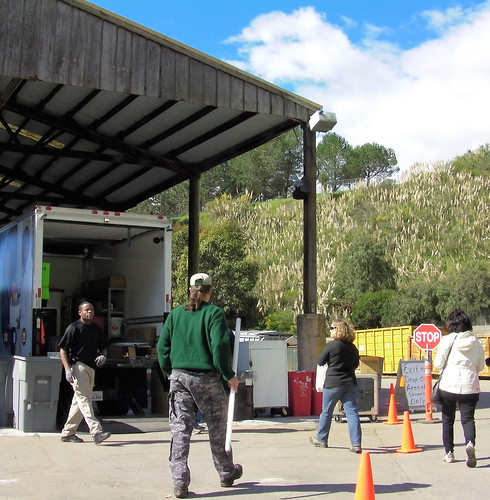 A morning event Feb. 26 at the El Cerrito Recycling Center accepted CFL bulbs and fluorescent tubes, medication and mercury thermometers for safe recycling and disposal.