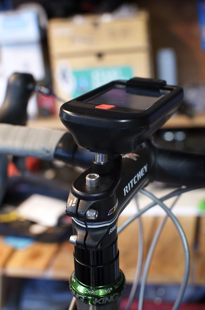iBike Dash+Power: Stem Mount