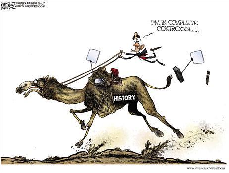 Political Cartoon from Michael Ramirez