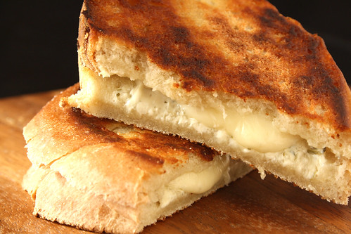 My Favourite Grilled Cheese Sandwich