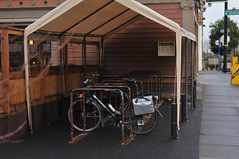 Covered bike parking on N Mississippi-2