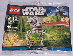 Lego 30054: AT-ST (Darth Ray) Tags: st star lego wars atst 30054