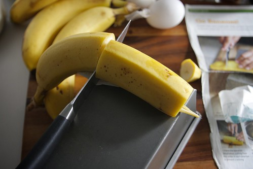 sizing up my bananas
