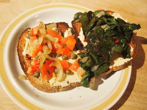 caper sandwich
