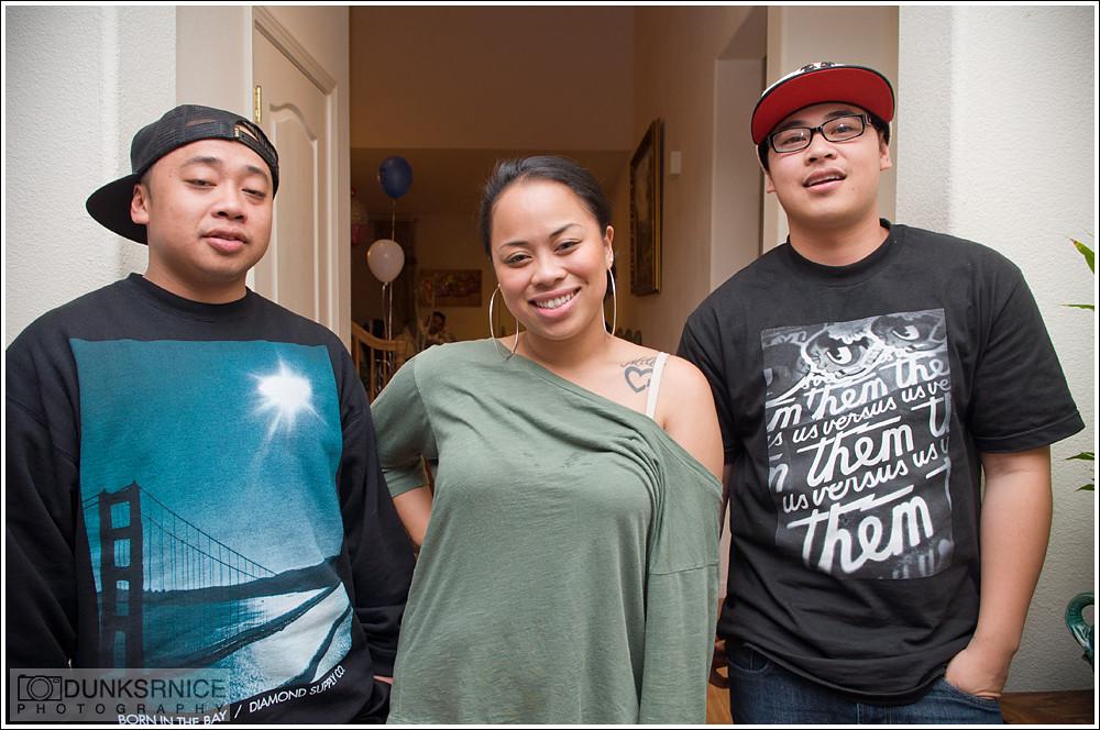 Greg, Arlene, & Mikey.