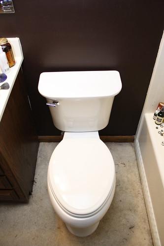 Take That, Cursed Bathroom | Homestead Geek