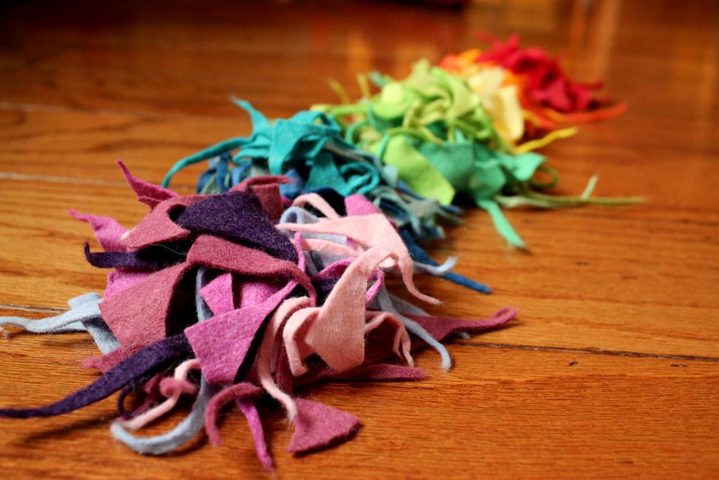 rainbow scraps