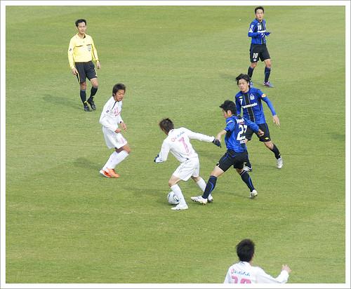 乾貴士@ガンバ大阪 VS セレッソ大阪