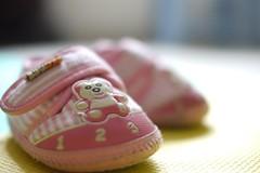 Hannah's little shoes (anthonyleungkc) Tags: baby lumix hongkong shoes bokeh voigtlander panasonic g2 manualfocus nokton 25mm f095 m43 mft microfourthirds dmcg2