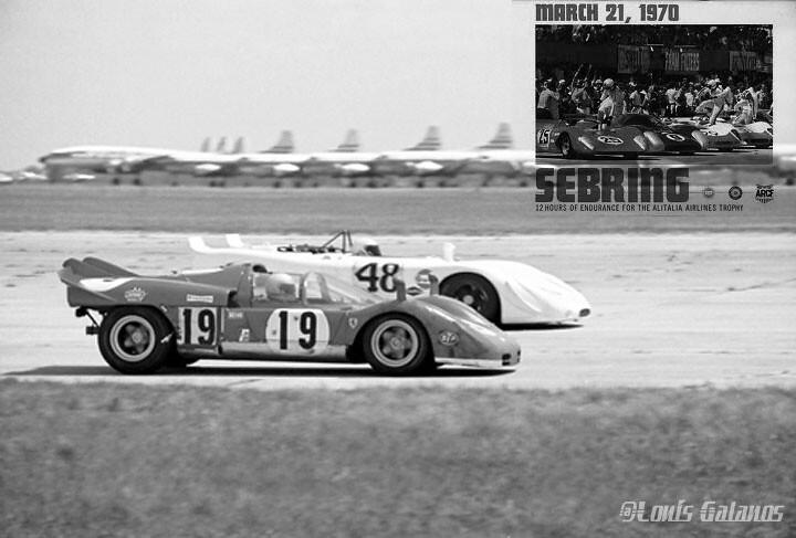 NART Ferrari 312P #19_Porsche 908 #48