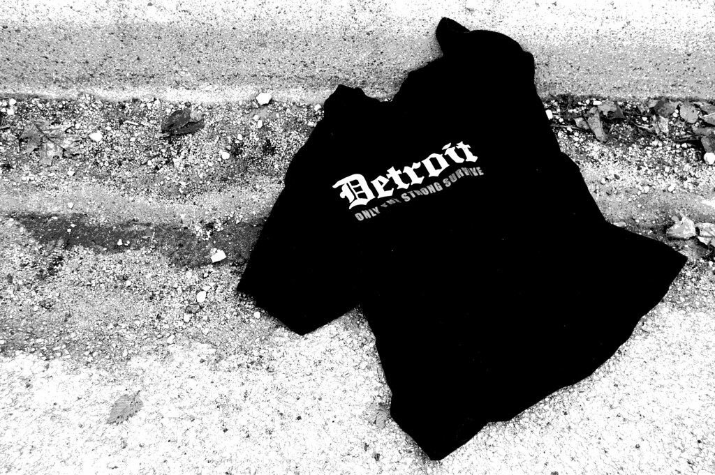 Discarded t-shirt
