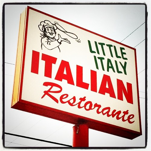 Little Italy in Tyler Texas