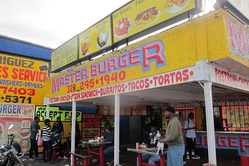 Master Burger: Exterior