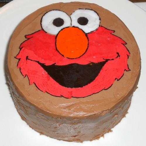 Fine Sesame Street Elmo Birthday Cake Cupcake Ideas Funny Birthday Cards Online Bapapcheapnameinfo