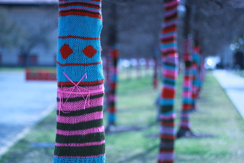 Yarn Bomb