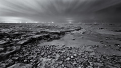 Black And White Photography Beach Landscapes Sea White Black Beach