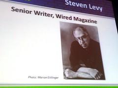 SMX 2011 Keynote Speaker Steven Levy