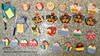 Imãs sortidos (Ateliê Mimos & Encantos) Tags: artesanato e feltro corujas mimos tecido galinhas hipopotamos docinhos atelie encantos imãs