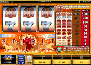 Free Spirit Wheel of Wealth slot game online review