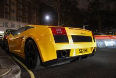 Gallardo. (Richard T Smith) Tags: old uk black london night shot style lp rims mayfair lamborghini gallardo supercars s6 lambo shk