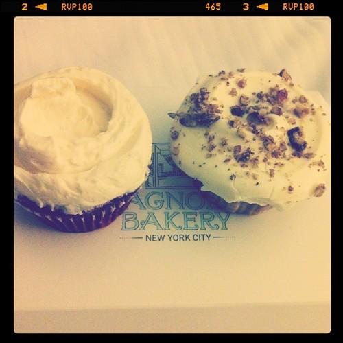 Magnolia Bakery Cupcakes <3