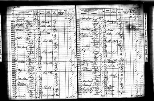 Possible Passenger List for Anton and Rosalie Keppler