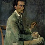 [ B ] Balthus (Balthasar Klossowski de Rola) - Self-portrait (1940) thumbnail