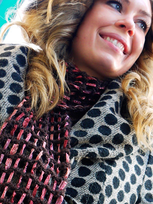 Shimmer Scarf (crochet)