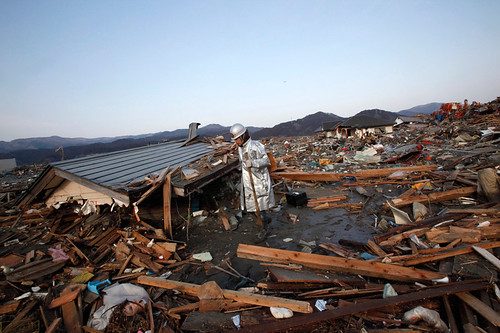 Japan: earthquake aftermath