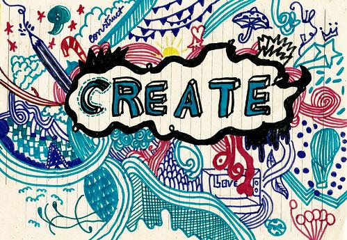 Create & Construct by lorraine santana, on Flickr
