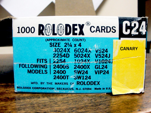 1000 Rolodex Cards