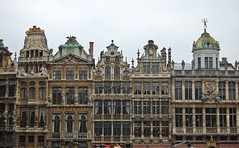 Guild Halls on Le Grand Place (Mattron) Tags: brussels architecture europe belgium belgique belgie grandplace centre bruxelles landmark center baroque brussel centrum grotemarkt lowcountries guildhall
