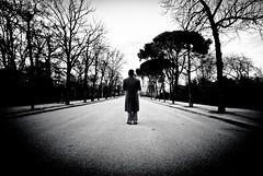 Solo (bogob.photography) Tags: madrid park bw lensbaby nikon solo d80 bogob1980