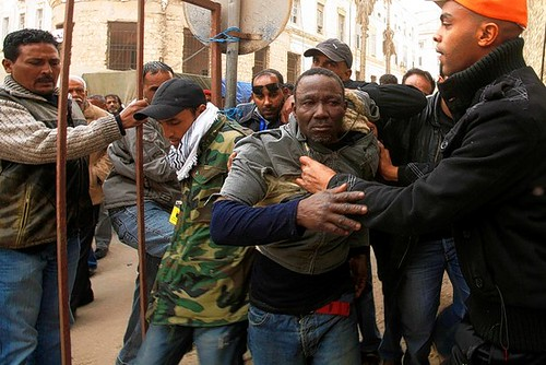 Libyans who support the government of Muammar Gaddafi are reportedly being rounded up in the rebel city of Benghazi as the government forces continue their offensive against the counter-revolutionary elements seeking to impose a neo-colonial plot. by Pan-African News Wire File Photos