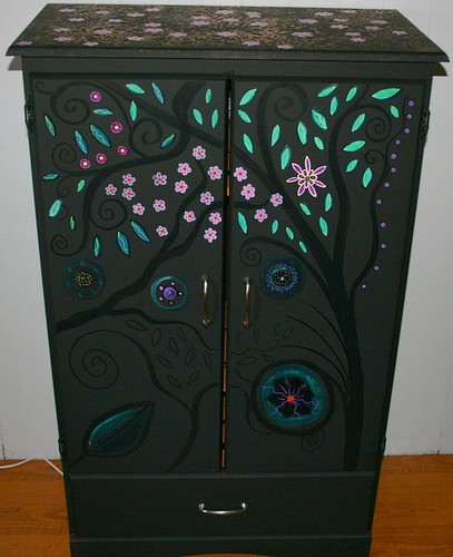 Armoire/Wardrobe by Rick Cheadle Art and Designs